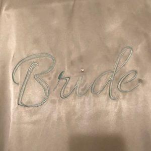 Apt 9 Bride Robe - Med